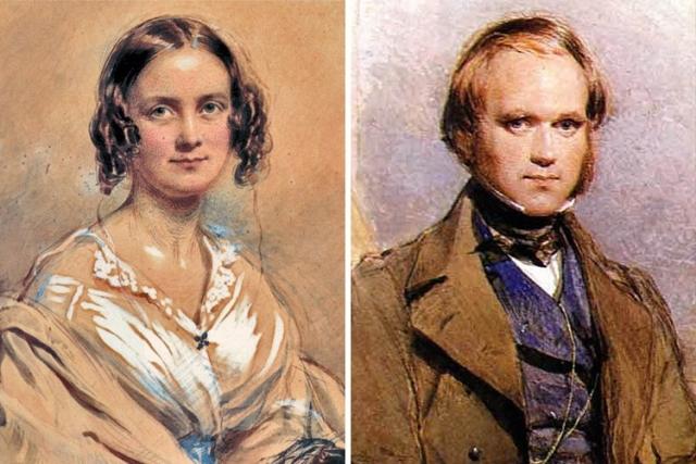 Чарльз Дарвин. Основоположник теории эволюции женился на своей двоюродной сестре Эмме Веджвуд, которая была всего на несколько месяцев моложе его. Дарвин прекрасно осознавал, что это кровосмешение и полагал, что именно это стало главной причиной того, что трое из десяти его детей умерли еще в детстве.
