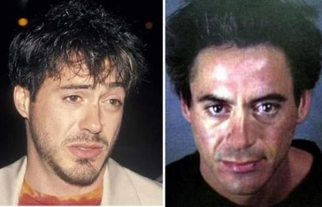 Однако он очутился в тюрьме и реабилитационном центре из-за своей непреодолимой тяги к наркотикам. С 1996 по 2001 год его арестовывали несколько раз. Актер был настолько нестабилен, что режиссеры просто не могли предугадать, когда у него случится очередной срыв.