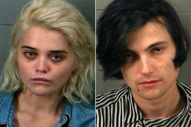 При проверке документов в машине нашли таблетки экстази и пакет с 42 дозами героина. Возлюбленных забрали в участок, но до решения суда выпустили под залог.