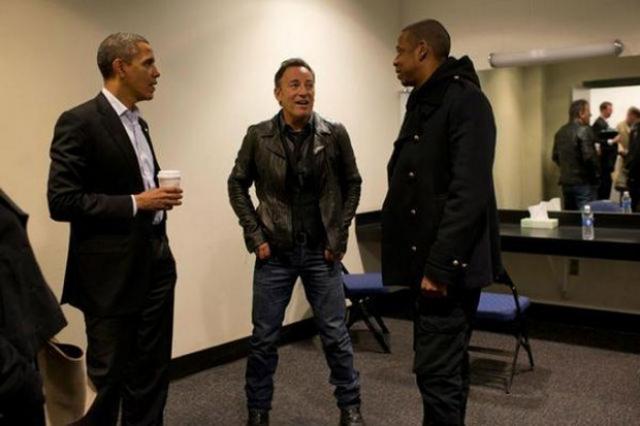 Барак Обама, Брюс Спрингстин и Джей Зи.