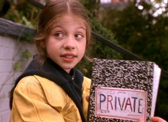 """Мишель Трахтенберг. Девочка дебютировала в кино в фильме """"Шпионка Харриет"""". Тогда вряд ли кто-то мог предположить, что из нее вырастет красавица."""