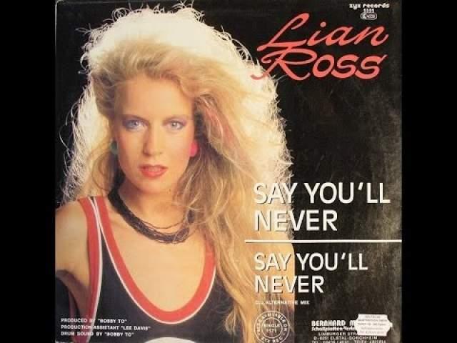 Lian Ross, 56 лет. Немка Йозефина Хибель в 80-х выступала с хитами Fantasy и Say You'll Never.
