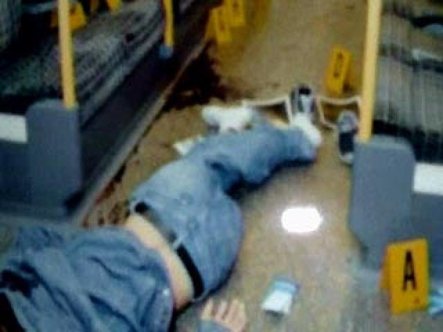 """На другой день, 22 июля 2005 года, городской полицией Лондона на станции метро """"Стокуэлл"""" по ошибке был убит бразильский гражданин Жан Шарль де Менезес, принятый за одного из террористов."""