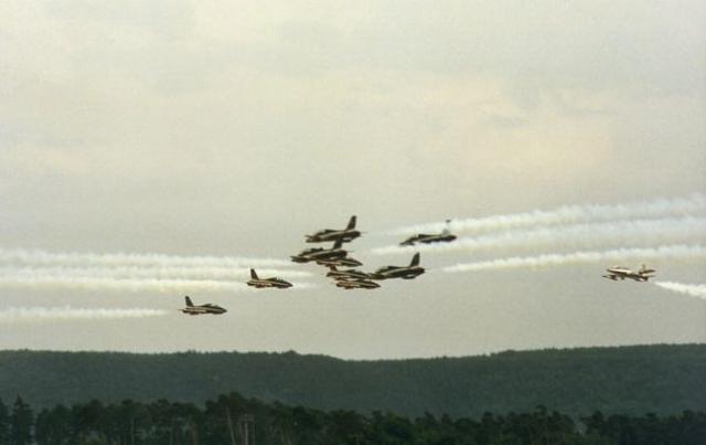 Столкновение над авиабазой Рамштайн (28 августа 1988 года). На американской авиабазе в немецком городе Рамштайн проводилось ежегодное авиашоу, приуроченное к началу учений НАТО в Западной Европе.