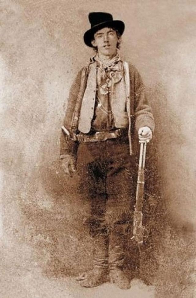 "Форт Самнер из Нью-Мексико: ""Билли Кид"" - $2 300 000, автор неизвестен, 1879-80."