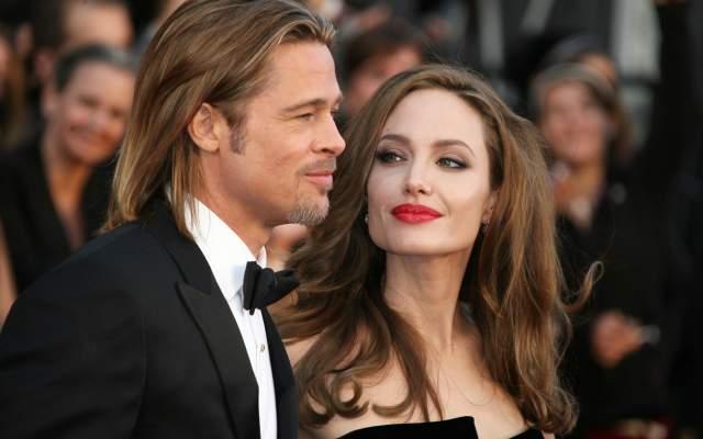 Анджелина Джоли и Брэд Питт, 2014-2016.