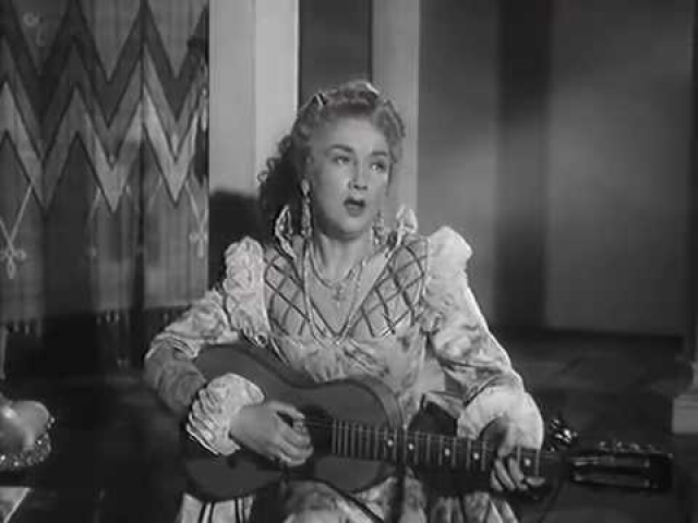 """Актриса начала сниматься поздно - в 42 года. Один из первых фильмов - """"Учитель танцев"""" (1952)."""