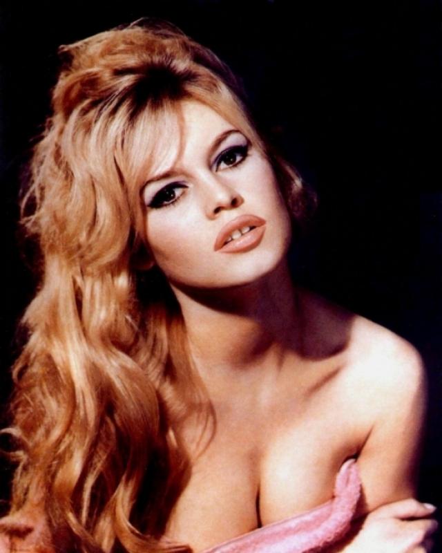 Бриджит Бардо. Европейский секс-символ 50-60-х годов ХХ века снялась в более чем полусотне фильмов.