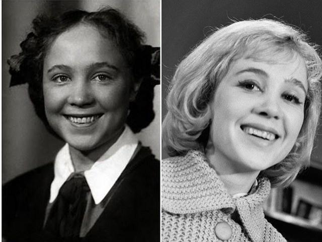 Надежда Румянцева в детстве и юности была настоящей заводилой, ни один школьный спектакль не обходился без ее участия.