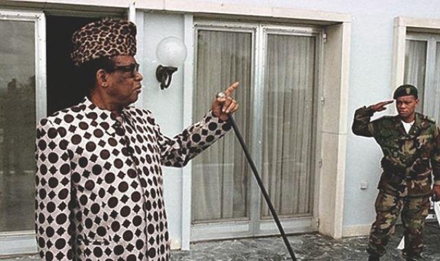 Секо был бессменным президентом Демократической Республики Конго (Заира) на протяжении трех десятилетий.