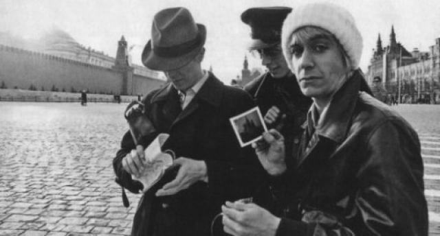 Дэвид Боуи и Игги Поп в Москве.