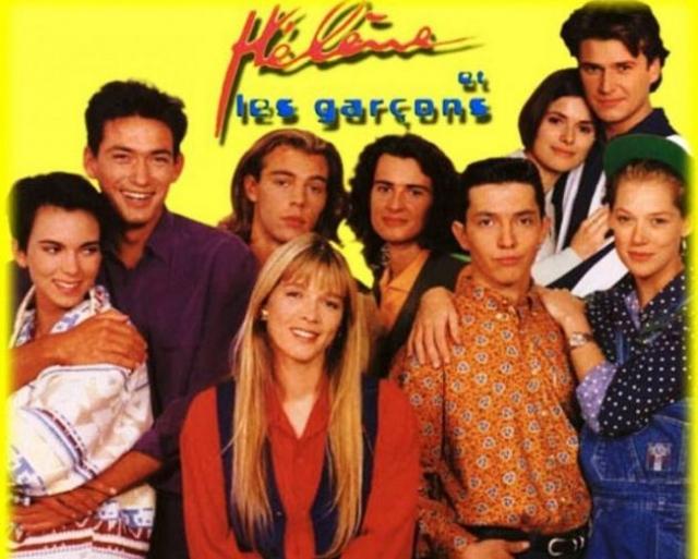 """В 1994 году на Первом канале была показана первая премьерная серия культового французского сериала """"Элен и ребята"""" , после чего он молниеносно стал популярен."""