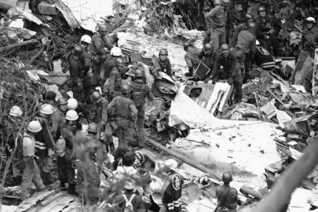 Их немедленно доставили в токийский госпиталь. Все четверо выживших сидели в хвосте самолета.