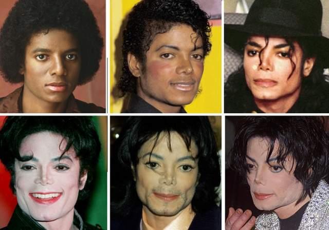 В одном фото эволюция стиля и внешности выглядит вот так.