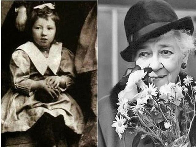 Фаина Раневская родилась аж в 1896 году и дебютировала еще в немом кино.