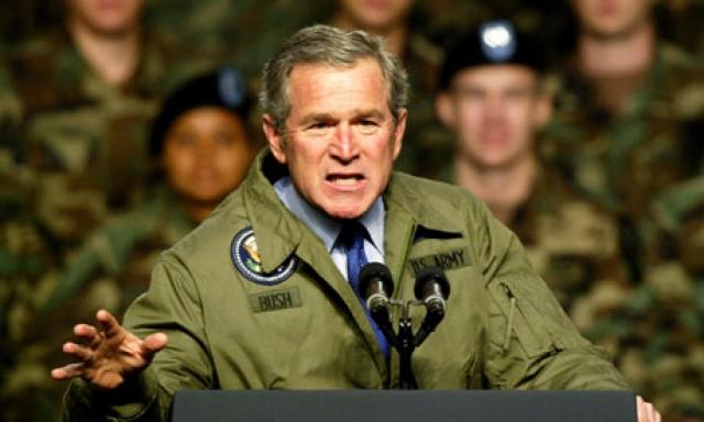 """""""Я считаю, что война - весьма опасное место,"""" - говорил Буш и с ним сложно не согласиться."""