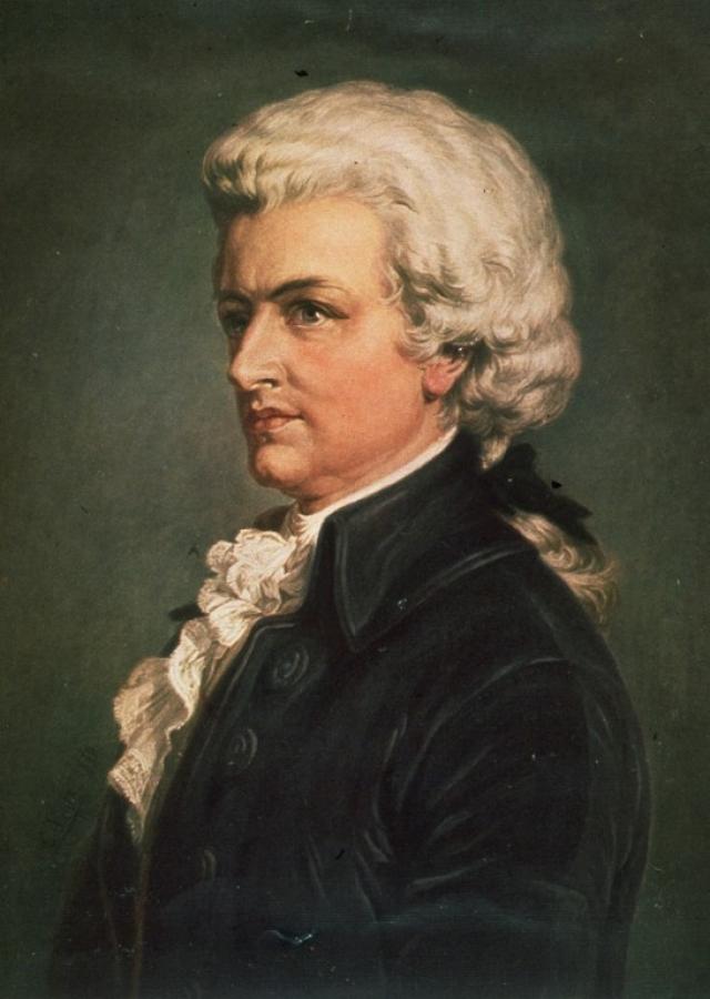 Моцарт...