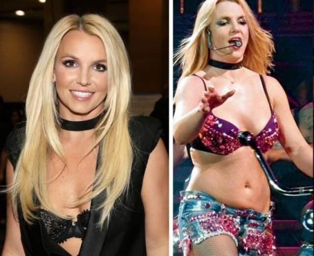 Бритни Спирс Разгульный образ жизни певицы Бритни Спирс дал свои плоды. Подтянутое тело осталось в прошлом.