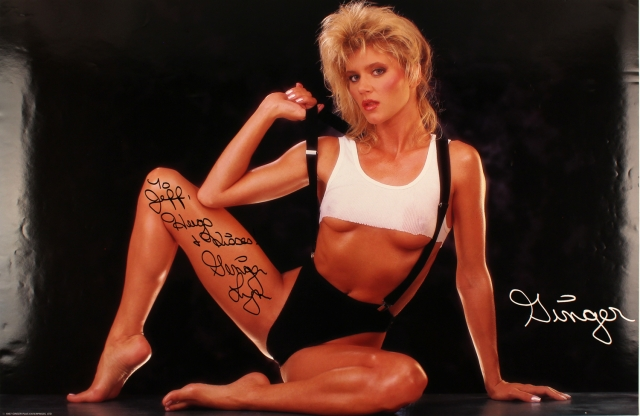 Джинджер Линн. В 80-х Линн была одной из самых успешных порноактрис и свою популярность она удачно использовала для попадания в Голливуд.