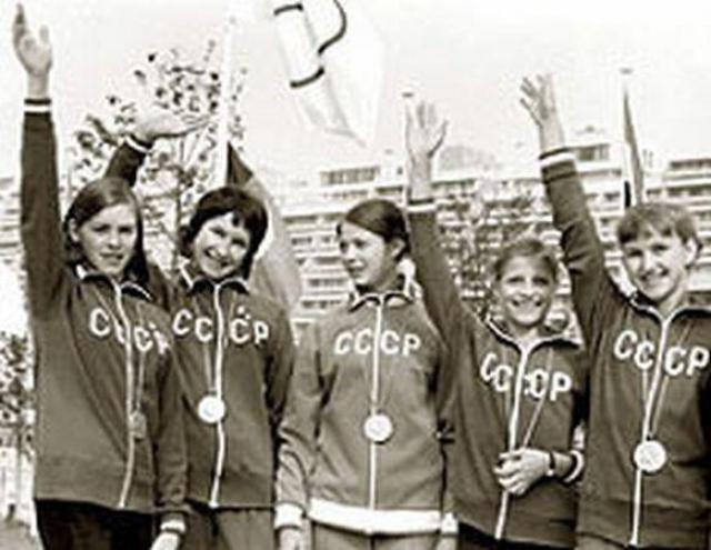 """После Олимпиады-80 """"Адидас"""" стал очень популярен в Советском Союзе."""