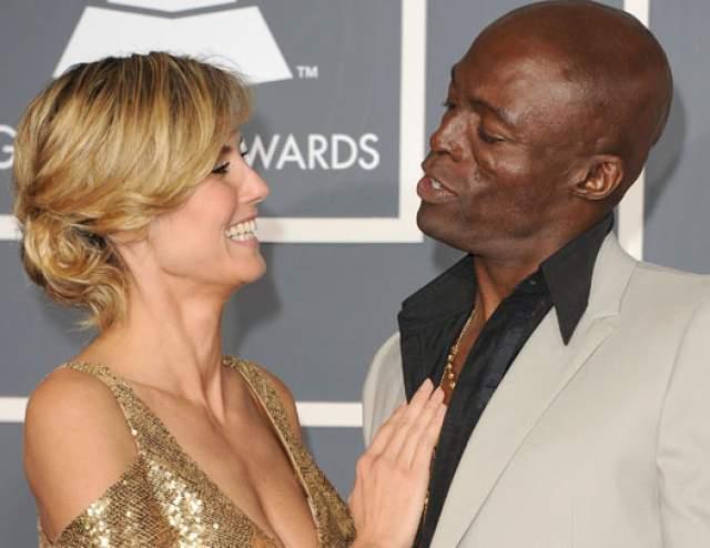 Хайди Клум и Сил. Пара считалась одной из самых крепких в мире шоу-бизнеса. Модель была замужем за певцом с 2005 по 2014 год.