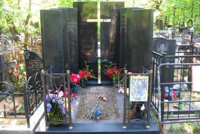 Актер был похоронен 20 августа 1987 года на Ваганьковском кладбище Москвы.