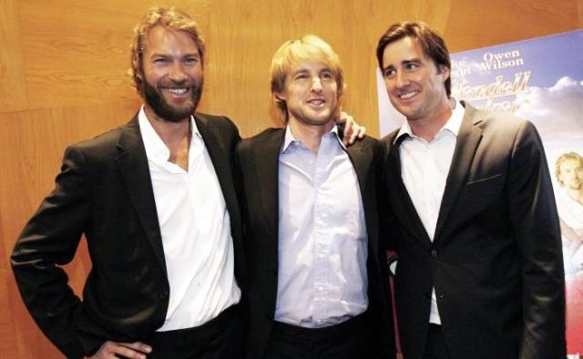 """Эндрю, Оуэн и Люк Уилсоны. Оуэна мы хорошо запомнили в фильмах """"Марли и я"""" и """"Полночь в Париже"""", а также многочисленных комедиях с его другом Беном Стиллером."""