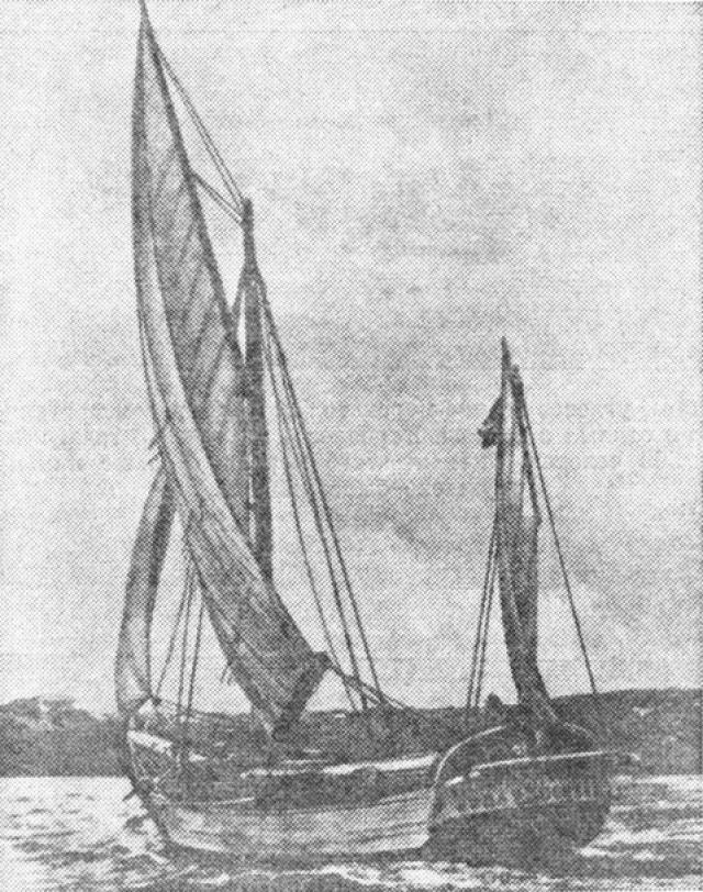 """В 1840 году в районе Багамских островов было обнаружено французское судно """"Розали"""" . Груз и само судно было не тронуто, но экипаж полностью исчез."""