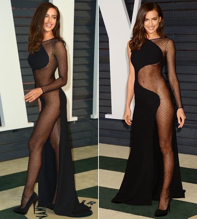 В следующем году на том же мероприятии наряд от Versace был еще более провокационным.