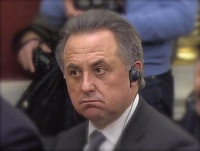 """Виталий Мутко : """"Российская сборная, она особенная. Вопрос даже не в результате, вопрос, как я говорю, фром май харт""""."""