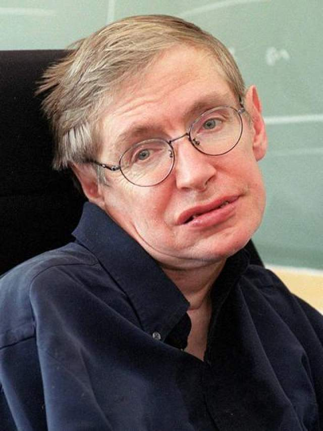 Стивен Хоккинг Британский физик-теоретик IQ=160