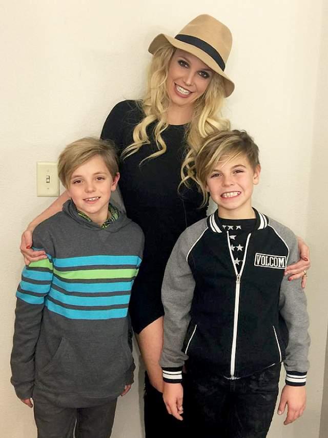 Тогда суд принял сторону Кевина и Шон Престон и Джейден Джеймс остались на попечении отца, через некоторое время Бритни пришла в себя и вернула родительские права.