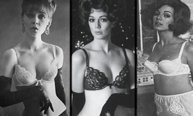 А вот такой была реклама Вандербра в 1960-х. Особняком всегда стояли модели ,в которых знаменитости выходили на сцену.