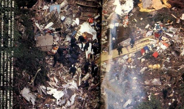 Столб густого черного дыма, поднявшийся над горой, позволил довольно быстро установить точное место катастрофы. В катастрофе погибли все 15 членов экипажа и 505 пассажиров. Выжило только 4 человека.