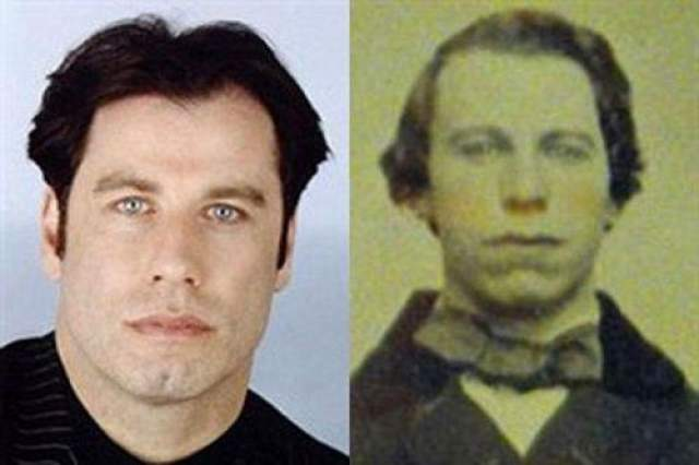 Джон Траволта и мужчина из 1860 года