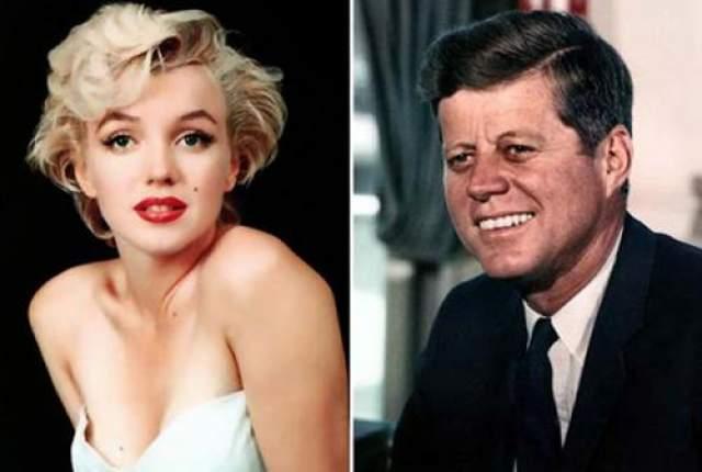 Мерли Монро и Джон Кеннеди История отношений Мерли Монро и Джона Кеннеди - одна из самых любимых тем конспирологов.