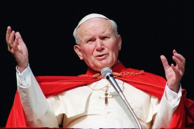 Папа римский Иоанн Павел II.