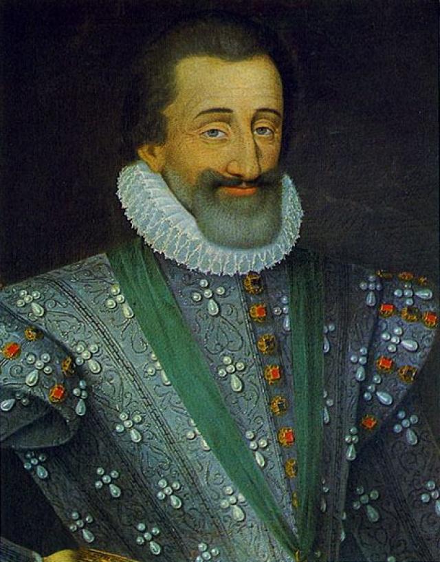 """Генрих IV : """"Париж стоит мессы"""" (правитель отрекся от религии ради престола)."""