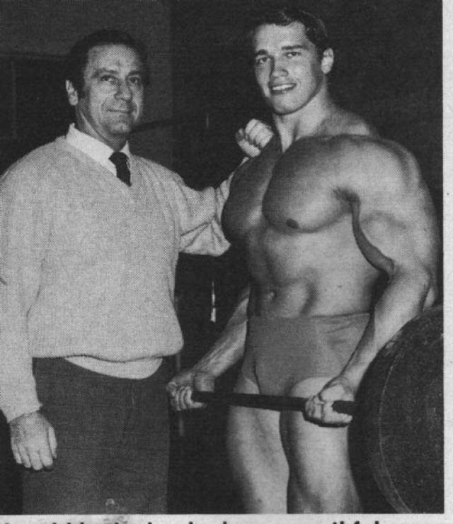 """Арнольд Шварценеггер. Будущий """"Терминатор"""" начал свою карьеру в бодибилдинге в возрасте 15 лет. На его счету семь титулов Мистер Олимпия и титул """"Мистер Вселенная""""."""
