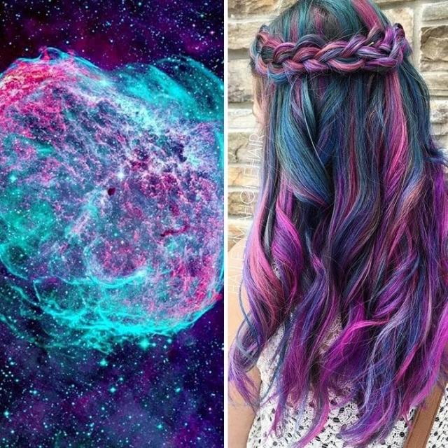 2.Галактические волосы