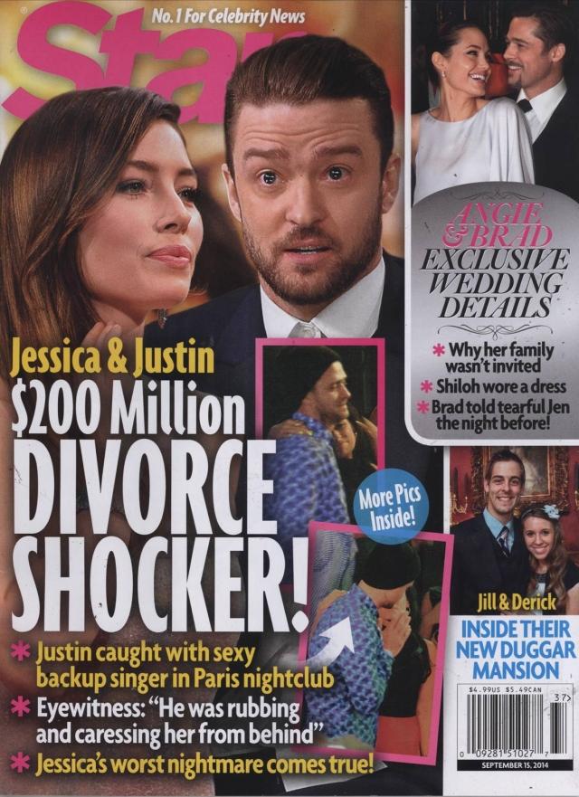 Плохие новости привели к скандалу в отношениях Тимберлейка с его подругой Джессикой Бил.