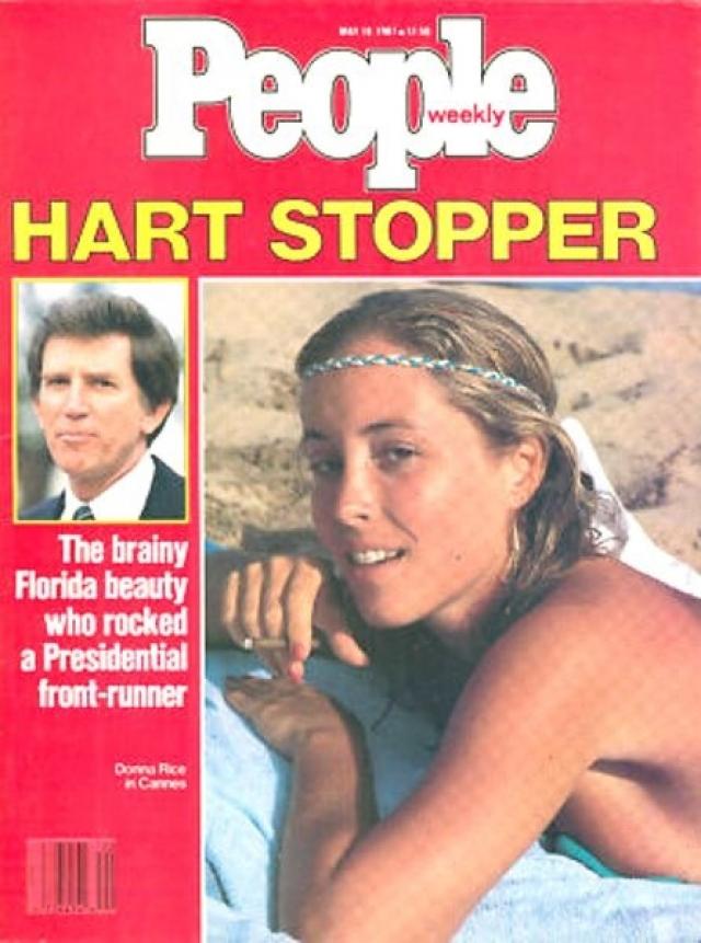 Харт был вынужден снять свою кандидатуру. После скандала Харт ушел из политики и вернулся к адвокатской практике.
