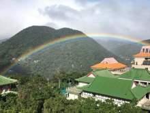 Девятичасовую радугу наблюдали на Тайване