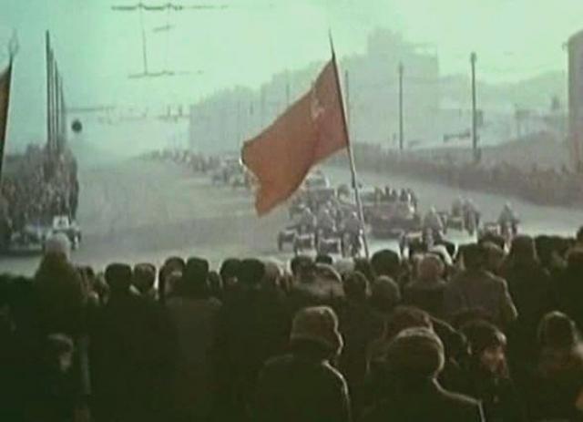 Днём 22 января 1969 года генеральный секретарь ЦК КПСС Леонид Брежнев прибыл в аэропорт Внуково, чтобы пожать руки новым героям космоса.