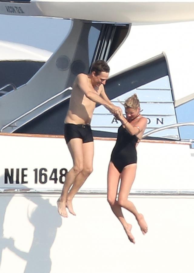 Кейт Мосс и Джейми Хинс.