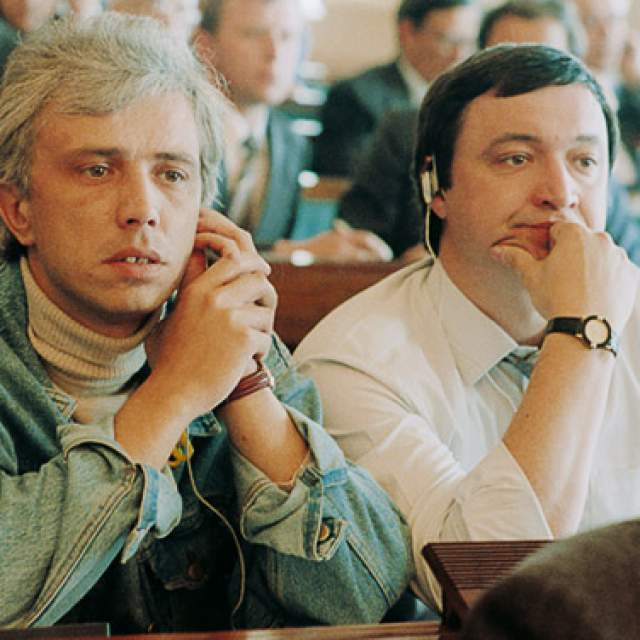 """После работы во """"Взгляде"""", с 1991 года, работал генеральным директором Союза эфирного и кабельного телевидения СССР."""