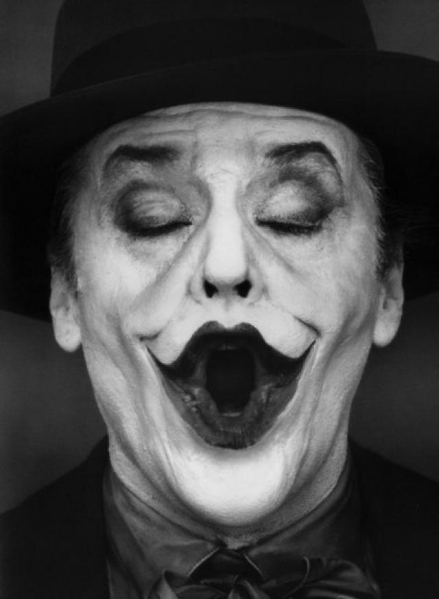 """Не менее популярна и """"маска"""" Джокера из серии фильмов."""