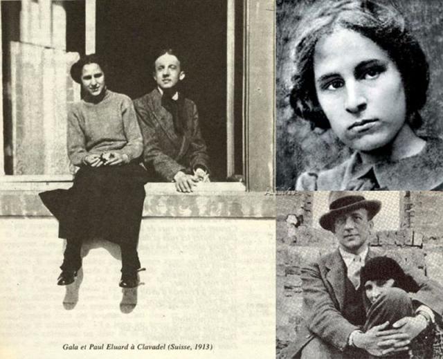 Елена Дьяконова, появившаяся на свет в Казани в 1894 году, в 1912 году лечилась в санатории в Швейцарии, где познакомилась с будущим знаменитым поэтом Полем Элюаром. В 1921 году Элюар и Гала поженились, у них родилась дочь Сесиль.
