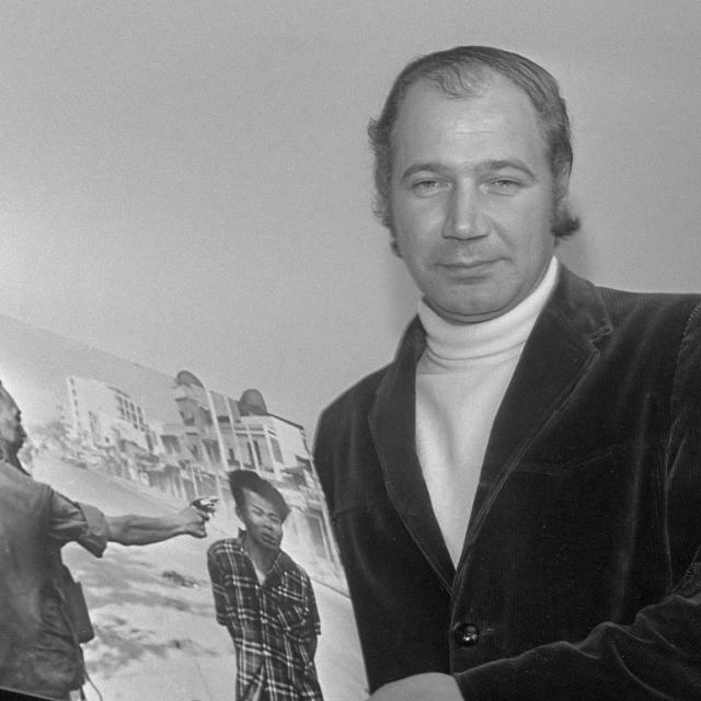 Автор знаменитого кадра – Эдди Адамс, американский фотограф.