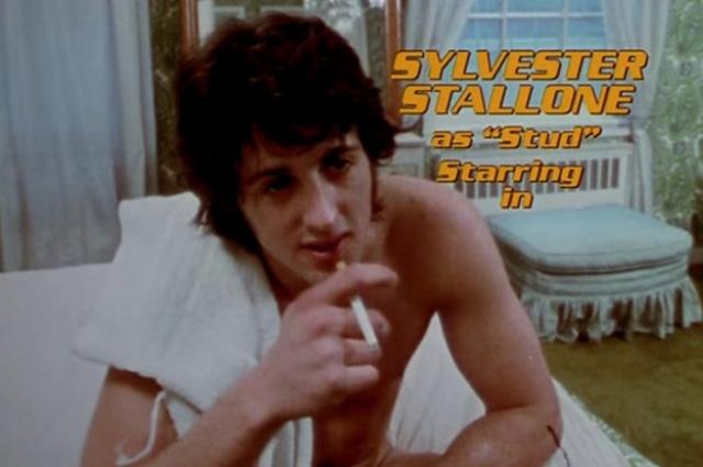 """Сильвестр Сталлоне. В 1970 году на широкие экраны вышел низкобюджетный порнофильм """"Вечеринка у Китти и Стада"""", о котором сейчас бы все давно забыли, если бы не исполнитель главной роли."""